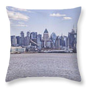 New York City Throw Pillow by Theodore Jones