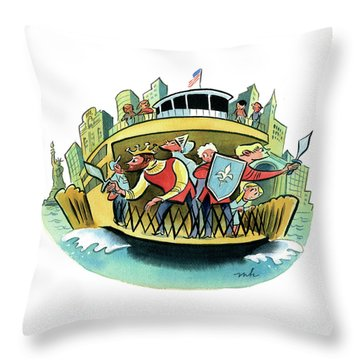 New York Classical Theatre's Henry V Takes Throw Pillow