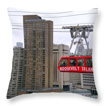 New York State Of Mind Throw Pillow by Ed Weidman
