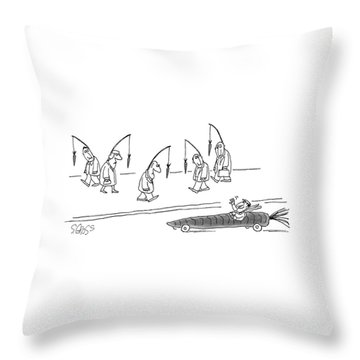 New Yorker April 10th, 1978 Throw Pillow