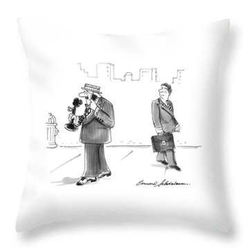 New Yorker April 19th, 1993 Throw Pillow