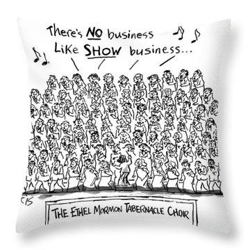 New Yorker April 21st, 1997 Throw Pillow