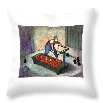 New Yorker April 25th, 1994 Throw Pillow