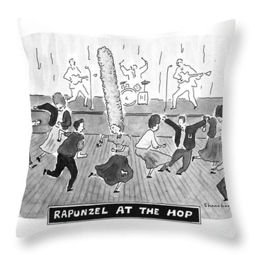 New Yorker April 2nd, 1990 Throw Pillow