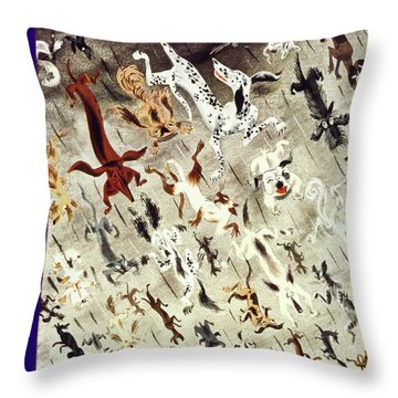 New Yorker April 4 1936 Throw Pillow