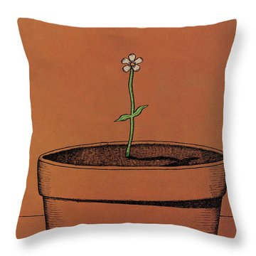 New Yorker April 4th, 1977 Throw Pillow