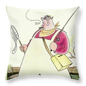New Yorker April 6 1940 Throw Pillow