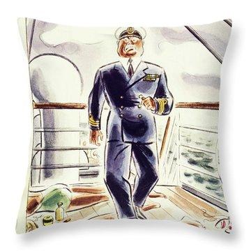 New Yorker April 9 1938 Throw Pillow