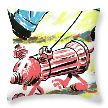 New Yorker April 9th, 2001 Throw Pillow