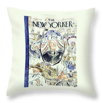 New Yorker August 10 1940 Throw Pillow