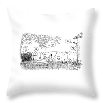 New Yorker August 12th, 1974 Throw Pillow