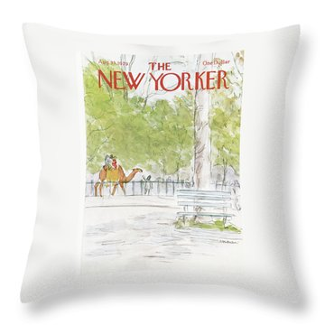 New Yorker August 13th, 1979 Throw Pillow