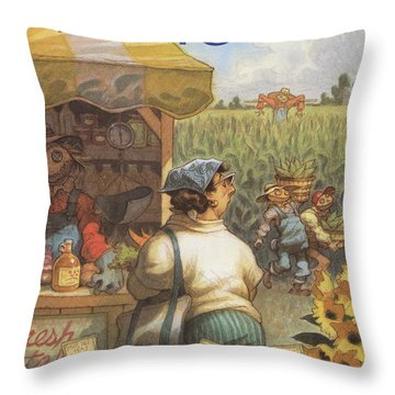 New Yorker August 14th, 1995 Throw Pillow