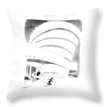 New Yorker August 16th, 1976 Throw Pillow