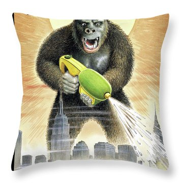 New Yorker August 1st, 2005 Throw Pillow