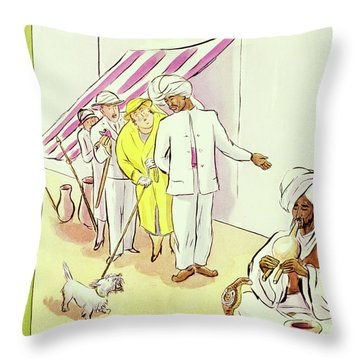 New Yorker August 22 1931 Throw Pillow