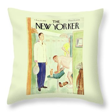New Yorker August 24 1940 Throw Pillow