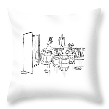 New Yorker August 24th, 1992 Throw Pillow