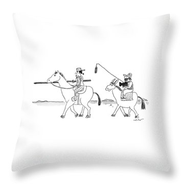 New Yorker August 24th, 1998 Throw Pillow