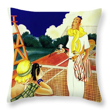 New Yorker August 29 1931 Throw Pillow