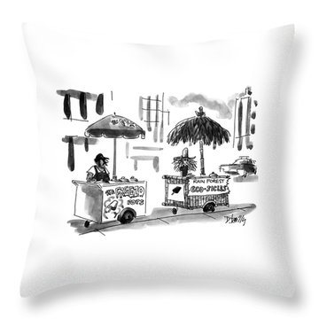 Stand Out Throw Pillows