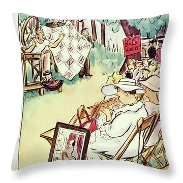 New Yorker August 3 1935 Throw Pillow