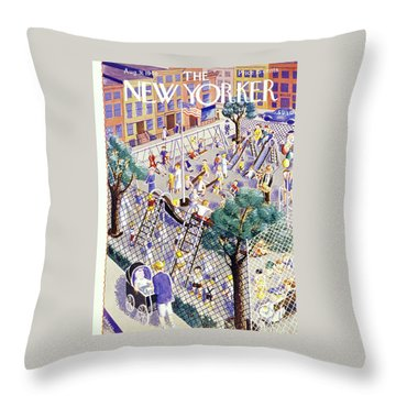 New Yorker August 31 1940 Throw Pillow