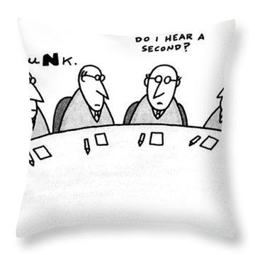 New Yorker August 3rd, 1987 Throw Pillow
