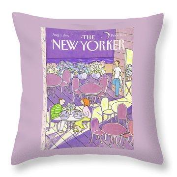 New Yorker August 3rd, 1992 Throw Pillow