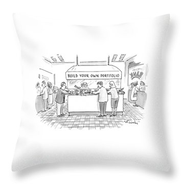 New Yorker August 4th, 1997 Throw Pillow