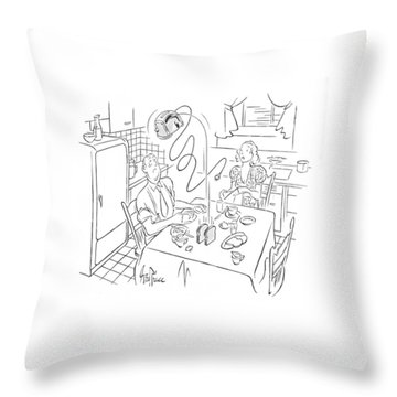 New Yorker August 5th, 1939 Throw Pillow