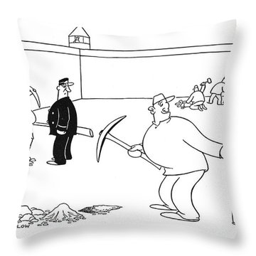 New Yorker August 5th, 1944 Throw Pillow