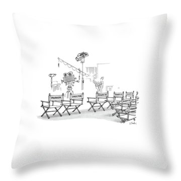 New Yorker August 8th, 1983 Throw Pillow