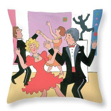 New Yorker December 11th, 1989 Throw Pillow