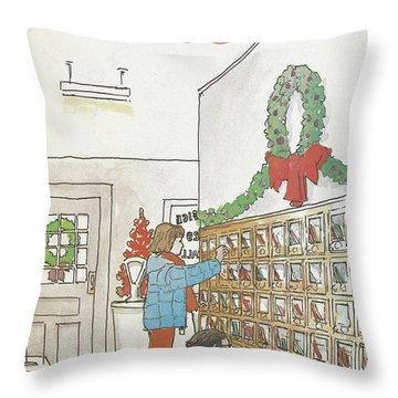 New Yorker December 12th, 1983 Throw Pillow