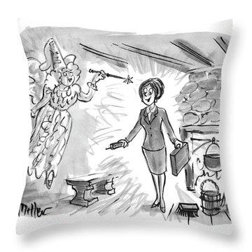 New Yorker December 13th, 1993 Throw Pillow