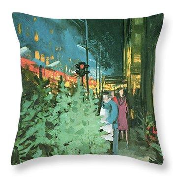 New Yorker December 14th, 1963 Throw Pillow