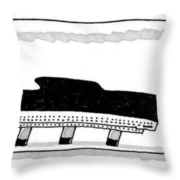 New Yorker December 15th, 1997 Throw Pillow