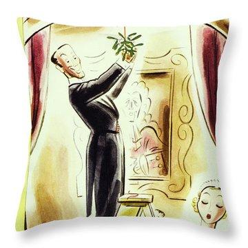 New Yorker December 17 1938 Throw Pillow