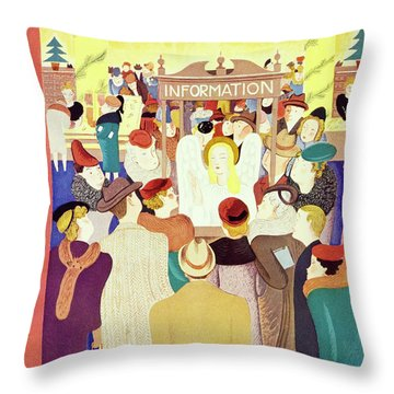 New Yorker December 2 1939 Throw Pillow