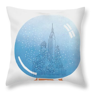 New Yorker December 22nd, 1975 Throw Pillow