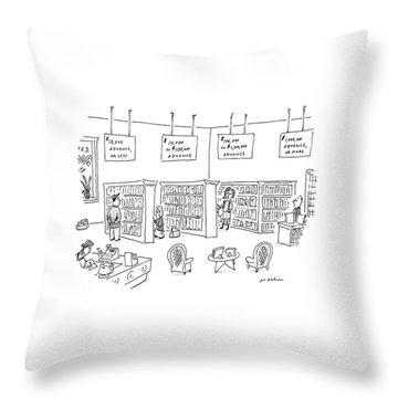 New Yorker December 23rd, 1996 Throw Pillow