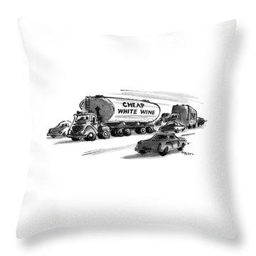 New Yorker December 25th, 1978 Throw Pillow