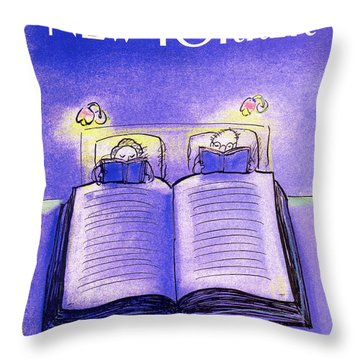 New Yorker December 3rd, 1990 Throw Pillow