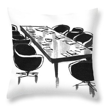New Yorker December 6th, 1976 Throw Pillow