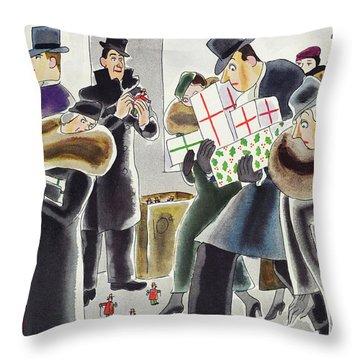 New Yorker December 7 1935 Throw Pillow