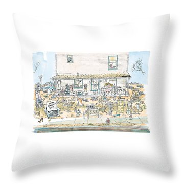 New Yorker December 7th, 1998 Throw Pillow