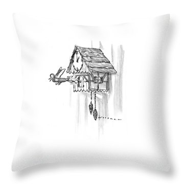 New Yorker February 10th, 1997 Throw Pillow