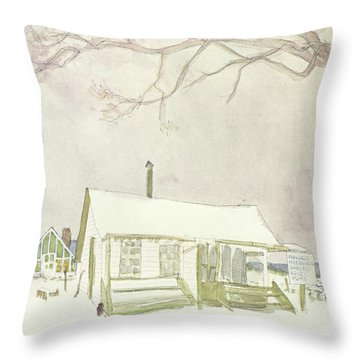 New Yorker February 15th, 1969 Throw Pillow