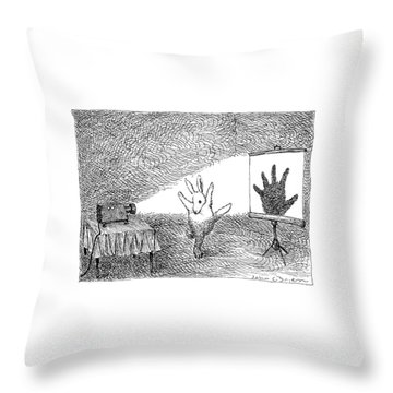 New Yorker February 25th, 1991 Throw Pillow